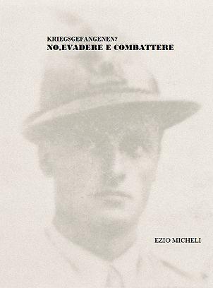 Foto di Ezio Micheli e della copertina del libro